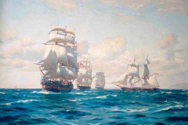 A doscientos años  del desembarco de la goleta Moctezuma en la caleta de Supe, 27 de marzo de 1819
