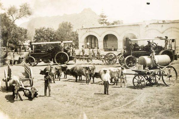 La otrora gran hacienda San Nicolás del Valle de Toro.