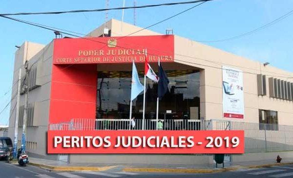 CSJH aprueba nómina de peritos judiciales para el año 2019
