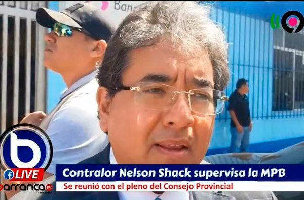 Contralor Nelson Shack supervisó la Municipalidad Provincial de Barranca